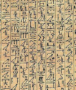 260px-Papyrus_Ani_curs_hiero